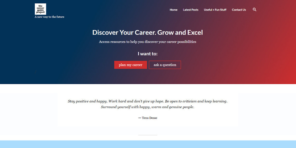 The Career Guide Project
